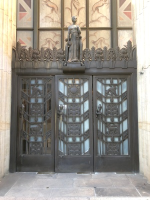 44 Main Str entrance doors
