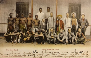 African and Chinese miners