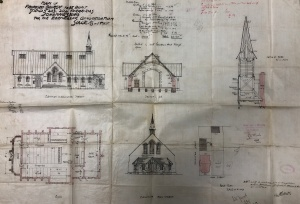Ebeneezer church plans ferreirastown
