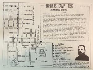 Ferreira's Camp map