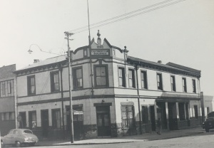 Cantonese Club buildings Alexander str 1955