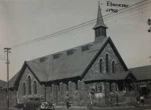 Congregational church Ebeneezer ferreirastown c1955