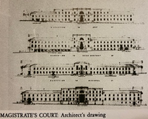 Magistrates court drawing