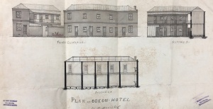 Odeon Hotel plans
