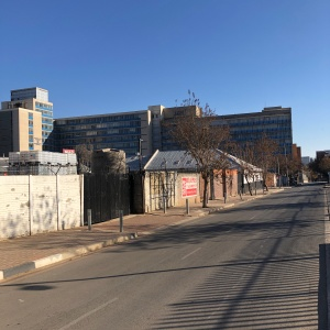 Old John Vorster Square from Alexander Street