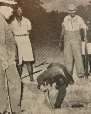 Police discover drum of shimyana 1937