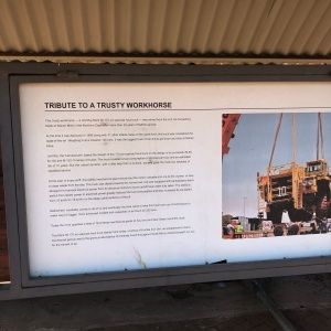 Unit rig mark 36 info board