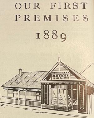 Herbert Evans 1889